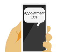 SMS Appointment Due